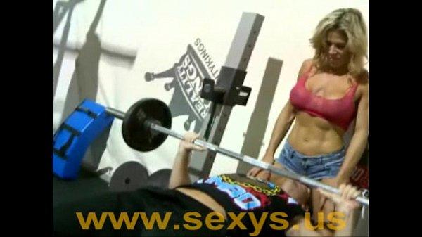 Athletic Body Under Pressure