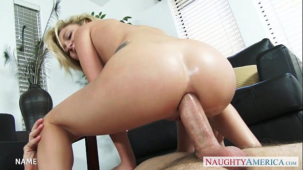 Busty Blonde Gets Her Bald Poon Railed
