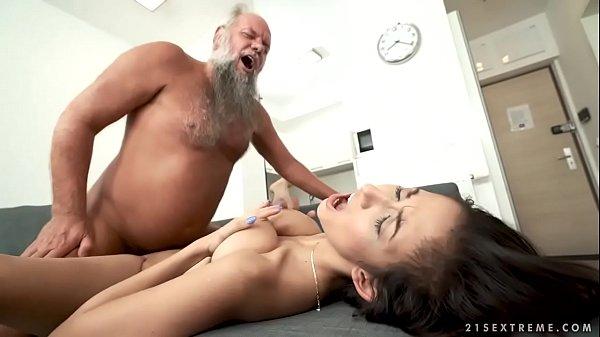 Busty Teen For Grandpa