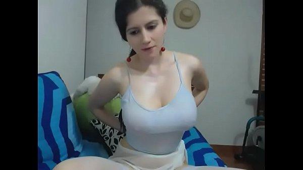 Cool masturbation before a camera