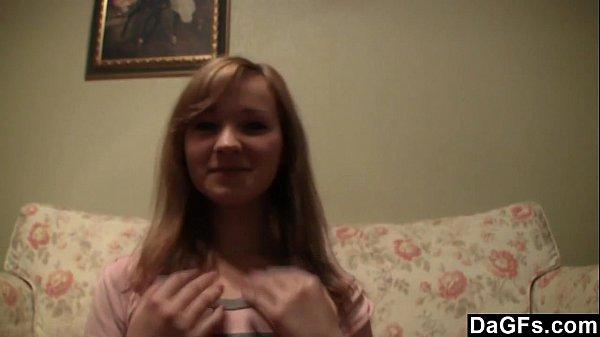 Cute Redhead Teen Strips Down On Cam