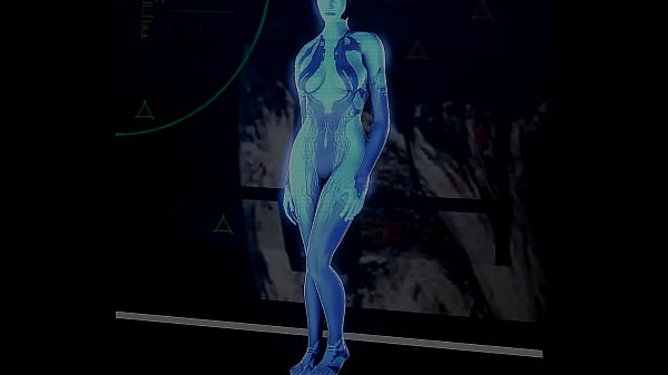 Halo flashing her shaven pussy