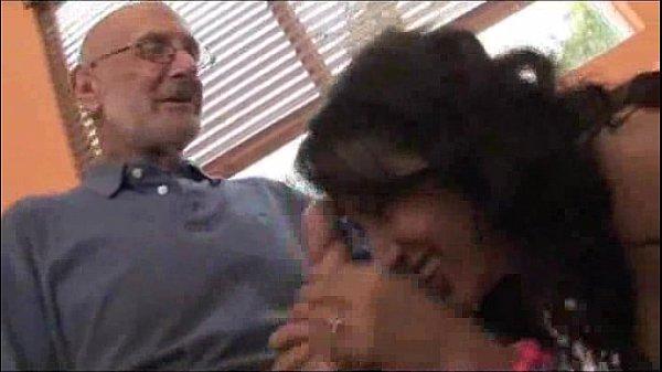 Latina Teen Lucia's Big Cock Older Man