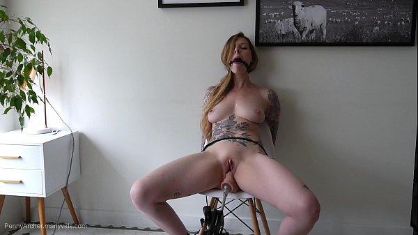 Mature Goddess Fucks Machine And Squirts
