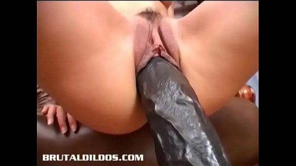 Mouth Stretching With a Dildo