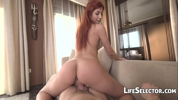 Redhead fucked on a first date