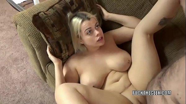 Sexy busty amateur big tit fuck!