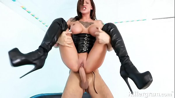Sexy Mature In Leather