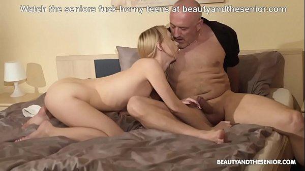 Skinny Blondie Masturbating