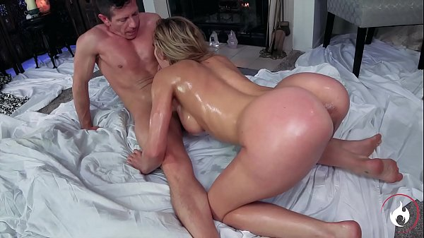Super Hot Blonde Enjoy Her Body